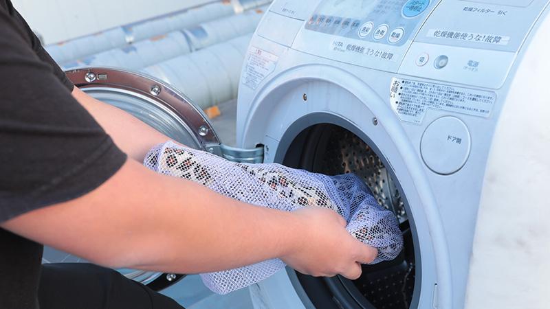 キャストが利用するコスチュームの洗濯